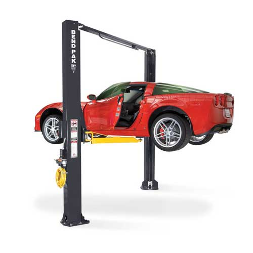 Two-post vehicle lifts from Babco